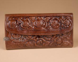 Southwestern Leather Handbag Wallet