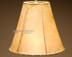 "Southwestern rawhide bell lampshade. 12"""