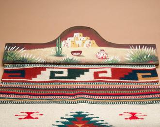 Western Tapestry Rug Hanger 30 Quot Pueblo Rh12 Mission
