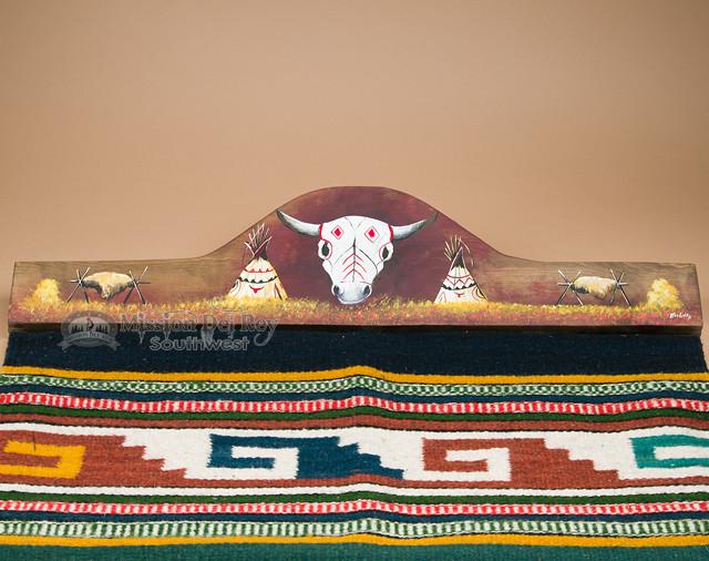 Rustic Zapotec Rug Wall Hanger 30 Quot Rh20 Mission Del