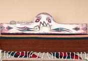 "Hand Painted Southwest Rug Hanger 30"" (RH26)"