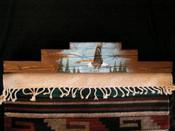 "Western Tapestry Hanger 30"" -Eagle (RH8)"