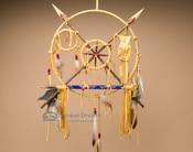 "Native American Navajo Peace Shield 12"" (s1)"