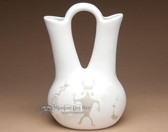 Navajo White Wedding Vase Quick View Native American