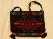 Southwest Flat Bottom Acrylic Purse
