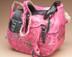 Western Hand Tooled Leather Saddle Purse