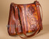Southwest Tooled Cowhide Leather Purse