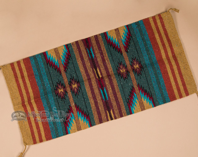 Hand Woven Old Style Southwestern Rug 20x40