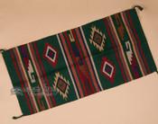 "Woven Wool Southwestern Rug 20""x40"" (40128)"