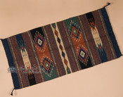 Hand Woven Old Style Southwestern Rug 20x40 (20408)