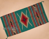 """Southwest Hand Woven Wool Rug 32""""x64"""" (64110a)"""
