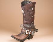 Rustic Boot Vase - rustic