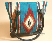 Zapotec Style Purse Hand Woven Wool