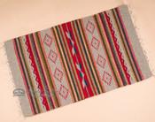 "Zapotec Indian Southwestern Rug 23""x39"" (153)"
