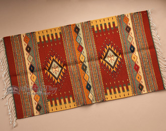 Extra Fine Zapotec Indian Southwestern Rug 23 Quot X39 Quot 204