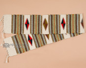 "Wool Zapotec table runner. 10"" x 80"""