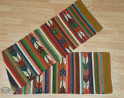 "Zapotec Indian Southwest Table Runner 15""x80"""