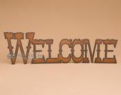 Metal Art Western - Welcome