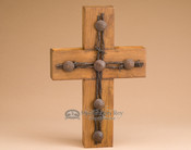 Old Door Board Wall Cross