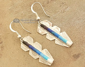 Beautiful handcrafted silver earrings