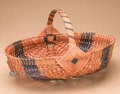 Amish Bun Basket - Blue