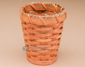 Handmade Amish Pencil Holder Basket