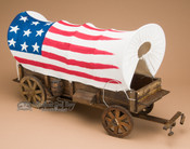 Handcrafted Covered Wagon