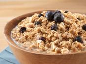 Granola w/ Milk & Blueberries