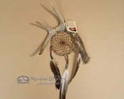 Antler Dreamcatcher Wall Art
