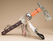Decorative Metal Tomahawk - Tarahumara