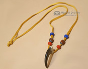 "Genuine Bear Claw Navajo Necklace 30"" (ij205)"
