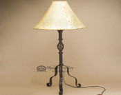 Western Wrought Iron Lamp - Canyon