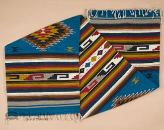 Zapotec Hand Woven Wool Runner Rug