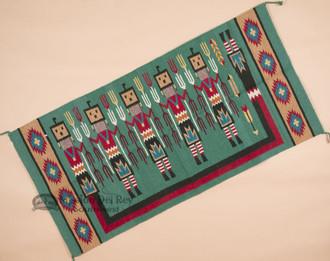 Southwestern Style Wall Hanging - Yei Dancers