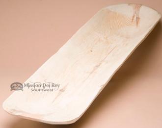 Large Primitive Hand Carved Log Bowl -Unfinished