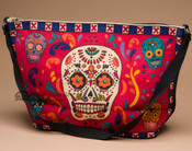 Southwest Day of the Dead Purse -Skull (hipdod203)
