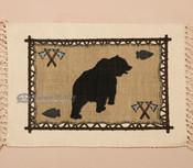 Southwestern Cotton Placemat 13x19 -Bear (himat71)