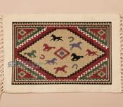 Southwestern Cotton Placemat 13x19 -Horses