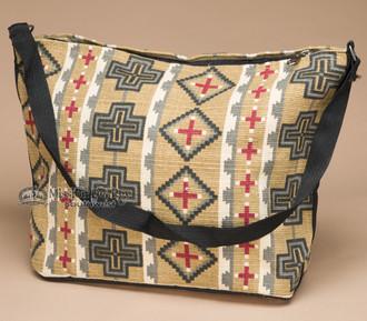 Southwest Native Design Purse -Wheat Cross