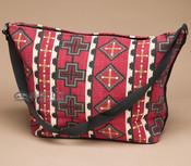 Southwest Native Design Purse -Red Cross