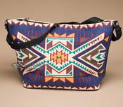 Southwest Native Design Purse -Blue Navajo