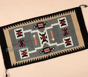 Southwest Style Area Rug -Navajo Storm