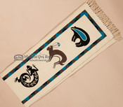 Southwest Table Runner -animals top