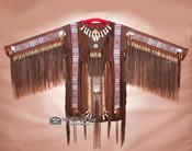 Native American Beaded Elk War Shirt