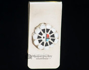 Southwestern American Indian Money Clip - Sunface