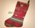 Woven Native Design Christmas Stocking