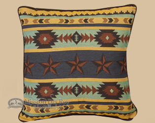 Western Star -Designer Throw pillow