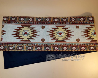 Southwestern Style Tapestry Table Runner 13x72  Yuma (t9)