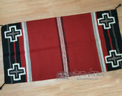 "8 lb. Handwoven Wool Saddle Blanket 32""x64"""