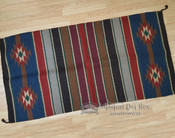 "Handwoven Wool Saddle Blanket 32""x64"" -8lb."